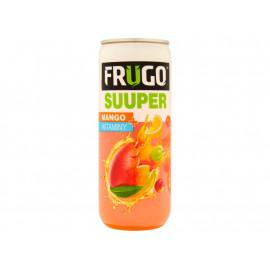 Frugo Suuper Mango + witaminy Napój wieloowocowy niegazowany 315 ml
