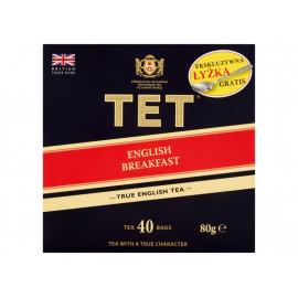 TET English Breakfast Herbata czarna 80 g (40 torebek)