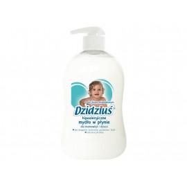 Dzidziuś Hipoalergiczne mydło w płynie z olejkiem migdałowym dla niemowląt i dzieci 300 ml