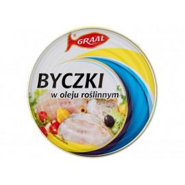 GRAAL Byczki w oleju roślinnym 300 g