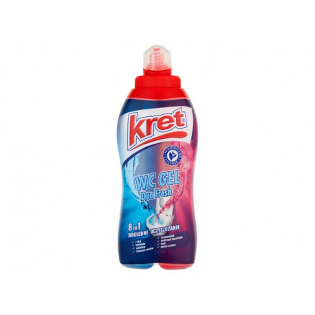 Kret Duo Fresh 8w1 Żel do WC 700 g