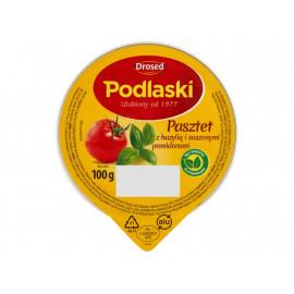 Drosed Podlaski Pasztet z bazylią i suszonymi pomidorami 100 g