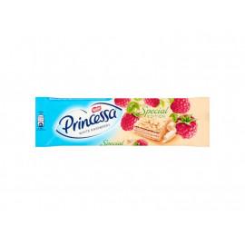 Princessa White Raspberry Wafel przekładany kremem malinowym oblany białą czekoladą 33 g
