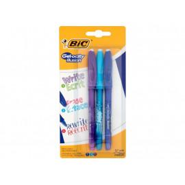 BiC Gel-ocity Illusion Długopis zmazywalny miks kolorów 3 sztuki