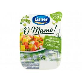 Lisner O Mamo! Sałatka warzywna z groszkiem 250 g