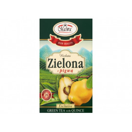 Malwa Herbata zielona z pigwą 30 g (20 torebek)
