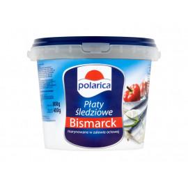 Polarica Płaty śledziowe Bismarck marynowane w zalewie octowej 800 g