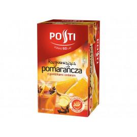 Posti Pomarańcza z goździkami i imbirem Herbatka owocowa 40 g (20 torebek)