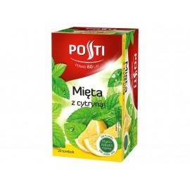 Posti Mięta z cytryną Herbatka ziołowo-owocowa 30 g (20 torebek)
