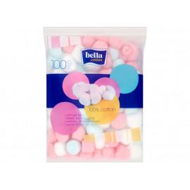 Bella Cotton Waciki kosmetyczne 50 g (100 sztuk)