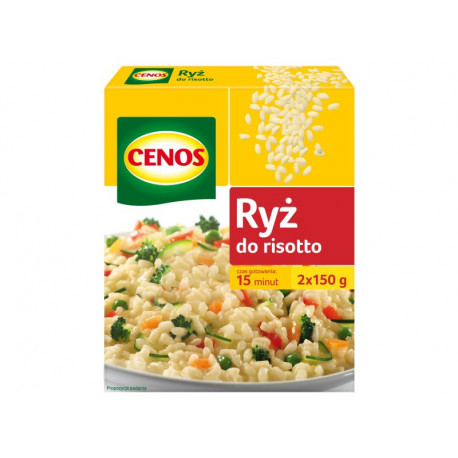 Cenos Ryż do risotto 300 g (2 saszetki)