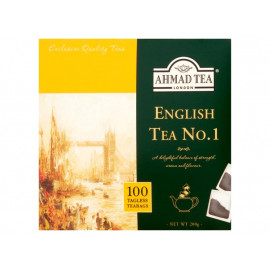 Ahmad Tea English Tea No. 1 Herbata czarna 200 g (100 torebek)