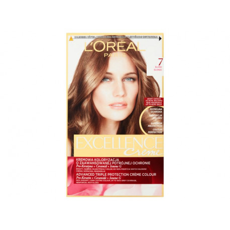 L'Oréal Paris Excellence Creme Farba do włosów Blond 7