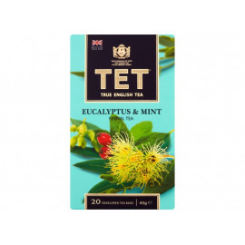 TET Herbata zielona z dodatkiem ziół 40 g (20 torebek)