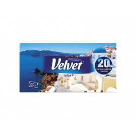 Velvet Relax Chusteczki uniwersalne 2 warstwowe 130 sztuk