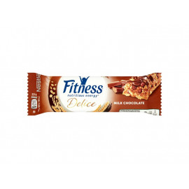 Nestlé Fitness Delice Milk Chocolate Batonik zbożowy 22,5 g