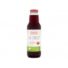 Oskoła Sok z brzozy z sokiem z żurawiny 750 ml
