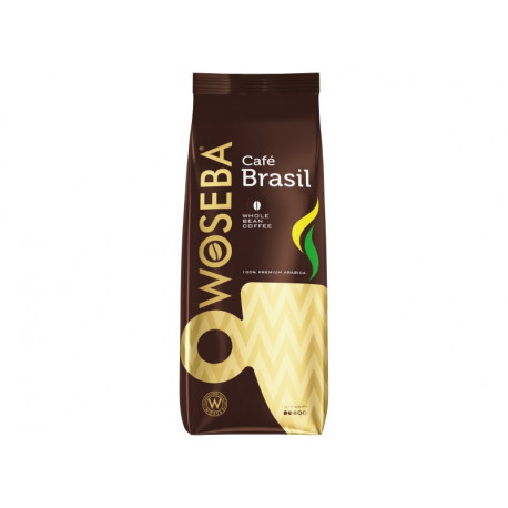 Woseba Café Brasil Kawa palona ziarnista 500 g