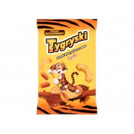Tygryski Chrupki kukurydziane o smaku toffi 70 g