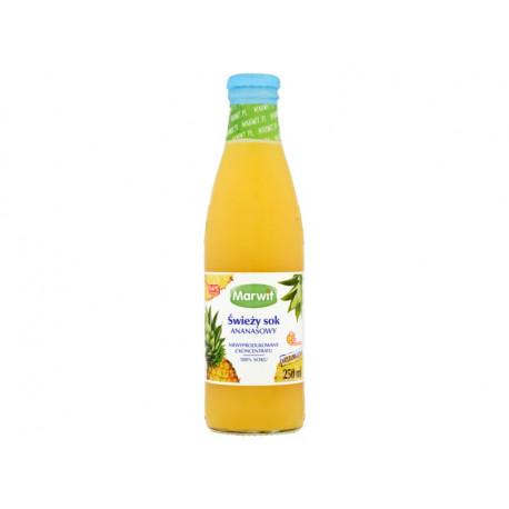 Marwit Świeży sok ananasowy 250 ml