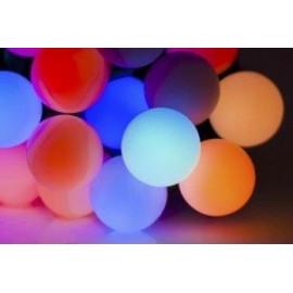 CORTINA LAMPKI LED KULKI MULTI COLOR 12M