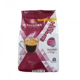 16 kapsułek kawy palonej mielonej EXPRESSO INTENSE (stopień intensywności 7) do systemu    NESCAFÉ® DOLCE Gusto® *