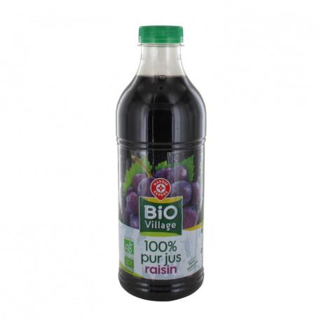BIO 100% sok winogronowy. Pasteryzowany metodą flash. Produkt rolnictwa ekologicznego.