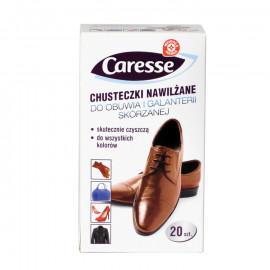 Chusteczki nawilżane do obuwia i galanterii skórzanej