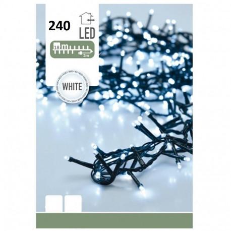 SCAWAR  ŁAŃCUCH ŚWIETLNY LED 18M WHITE