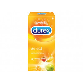Durex Select Prezerwatywy 12 sztuk