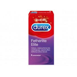 Durex Fetherlite Elite Prezerwatywy 6 sztuk