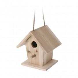 PROGARDEN Domek dla ptaków drewniany