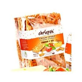 Chrupak snack Pieczywo chrupkie na zakwasie naturalnym pomidor +ser 100g
