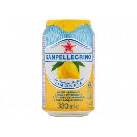 Sanpellegrino Limonata Napój gazowany o smaku cytrynowym 330 ml