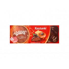 Wawel Kasztanki kakaowe z wafelkami Czekolada nadziewana 285 g