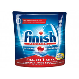 Finish All in 1 Max Lemon Tabletki do zmywarki 905 g (50 sztuk)