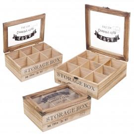 Pudełko na herbatę STORAGE BOX