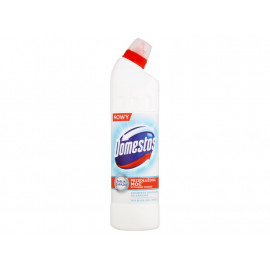Domestos Przedłużona Moc Biel i połysk Płyn czyszcząco-dezynfekujący 750 ml