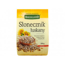 Bakalland Słonecznik łuskany 500 g