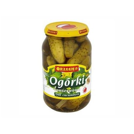 ORZECH Ogórki konserwowe 1,55kg