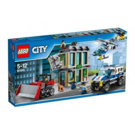LEGO CITY 60140 WŁAMANIE BULDOŻEREM