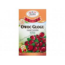 Malwa Owoc głogu Herbatka owocowa 40 g (20 torebek)