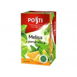Posti Melisa z pomarańczą Herbatka ziołowo-owocowa 26 g (20 torebek)
