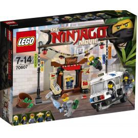 LEGO NINJAGO 70607 MOVIE POŚCIG