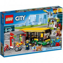 LEGO CITY 60154 Przystanek autobusowy