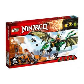 Klocki LEGO Ninjago Zielony smok NRG 70593