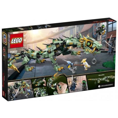LEGO Ninjago Movie - Mechaniczny smok zielonego ninja
