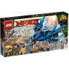 Klocki LEGO Ninjago Odrzutowiec Błyskawica