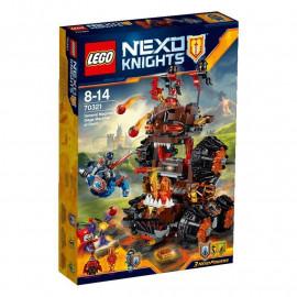 Klocki LEGO NEXO Knights  Machina oblężnicza Generała Magmara