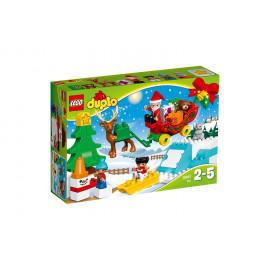 LEGO Duplo 10837 - Zimowe ferie Świętego Mikołaja